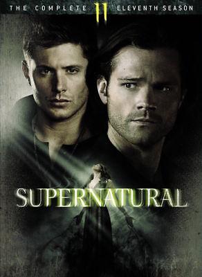 Supernatural  The Complete Eleventh Season 11  Dvd  2016  6 Disc Set  New Sealed