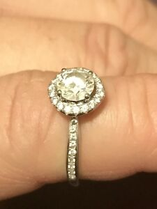 Size 7 women's engagement ring.