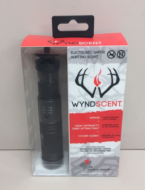 Wyndscent Electronic VaporHunting Scent W/ Battery Coil & Tool (Discont.)
