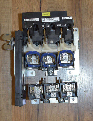 Square D Disconnect Switch 9422tdf63 Series A