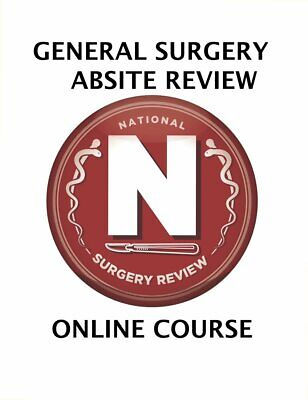 Absite Absite Review Manual American Board of Surgery In-Training Examination