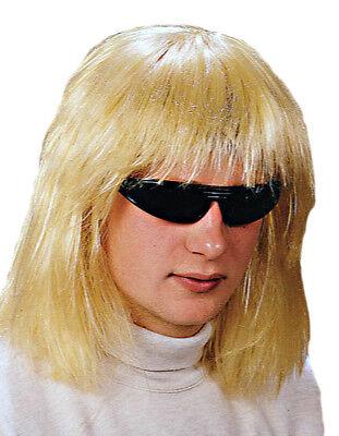 d Seventies für Herren - für Seventies Party und Schlager ... (Blonde Perücke Für Herren)