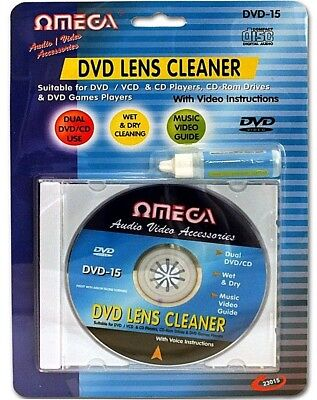 Laser Lens Cleaner Cleaning Kit for PS3 XBOX 360 BLU RAY DVD PLAYER CD DISC. O