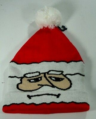 Eagle One Santa (New American Eagle Outfitters Christmas Santa Claus Winter Knit Hat One Size )