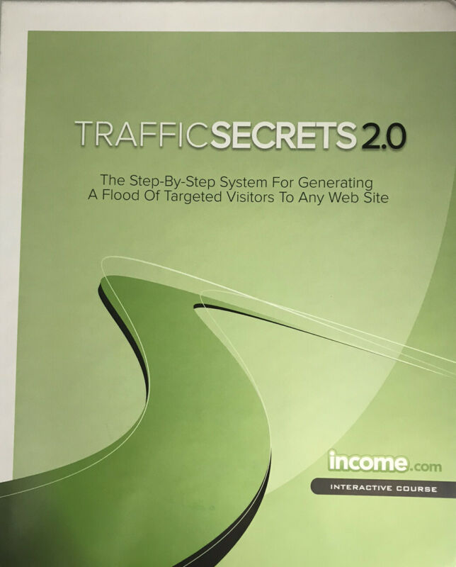 John Reese - Traffic Secrets 2.0 - Full physical course: book, CDs and DVDs.