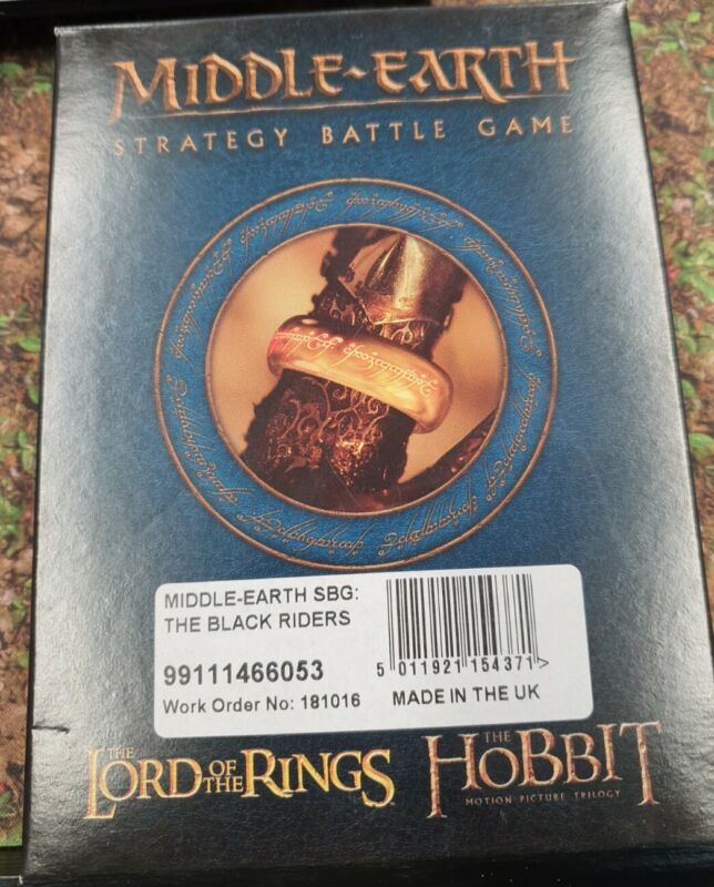 MIDDLE EARTH SBG - THE BLACK RIDERS NEW IN BOX