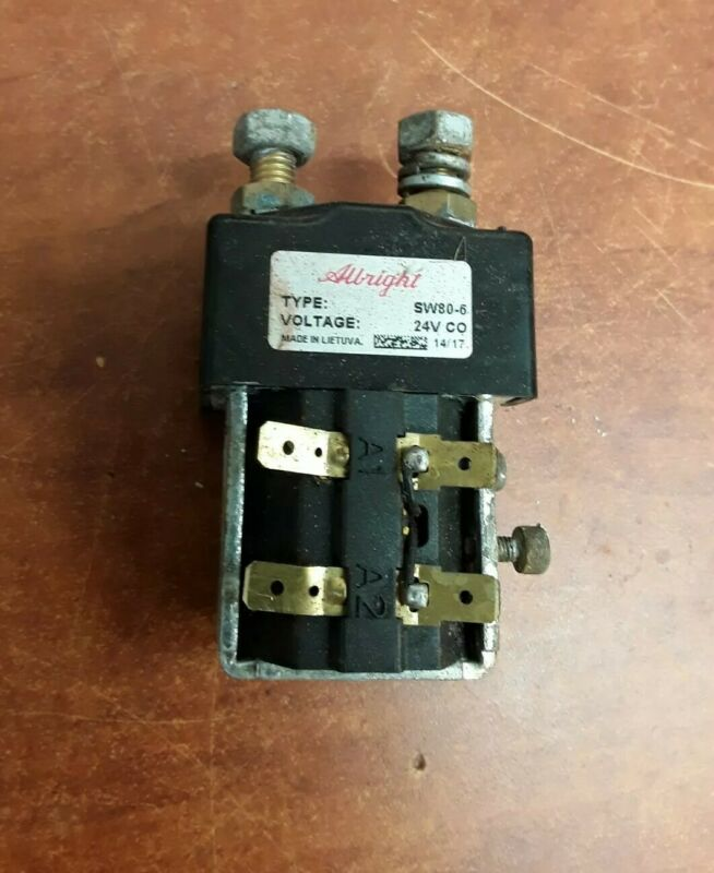 Curtis Albright Type SW80-6 24V Contactor