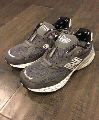 New Balance Minnie Mouse 990 shoes W990DIS3 gray Women's size 5 Disney Run 2015