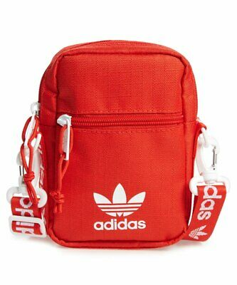 adidas Originals Festival Crossbody Bag Red One Size Mini Travel Bag (One Travel Bag)