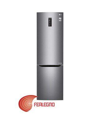 FRIGORIFERO FRIGO COMBINATO 375LT GRAFITE 60CM A+++ TOTAL NO FROST GBP20DSQFS LG