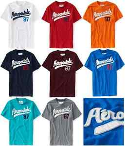 AEROPOSTALE-MENS-T-SHIRT-EMBROIDERED-LOGO-AERO-87-BASEBALL-TEE-TOP-SHIRT-NWT