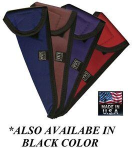 "Pro SCISSOR SHEAR Nylon Padded 12"" CASE SLEEVE Jacket Pouch w/VELCRO® Closure"