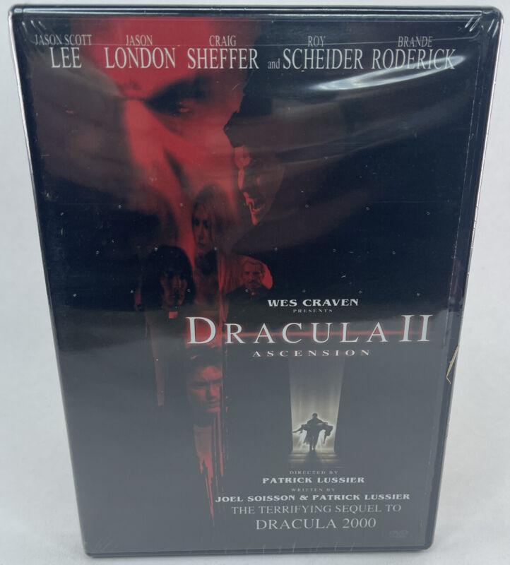 Wes+Craven+Presents+Dracula+II+-+Ascension+-+New+%26+Sealed+Region+1+DVD