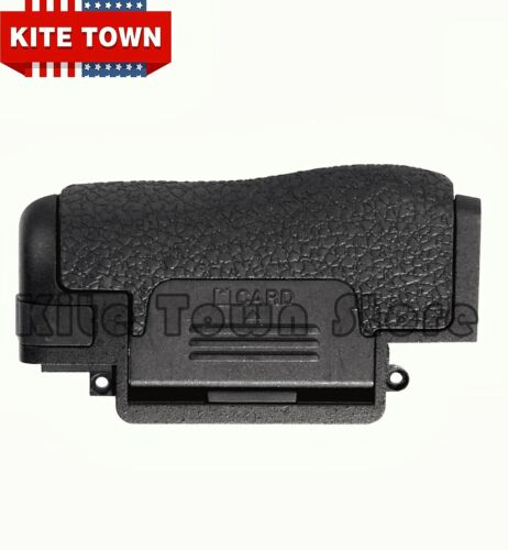 NEW CF SD Card Cover Memory Chamber Lid Door for Nikon D750 With Rubber Part