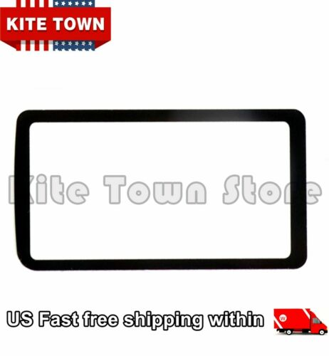 Top Small Outer LCD Screen Display Window Glass Cover (With Tape) for Nikon D850