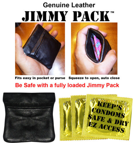 Condom Case - Play Safe with a Fully Loaded Jimmy Pack
