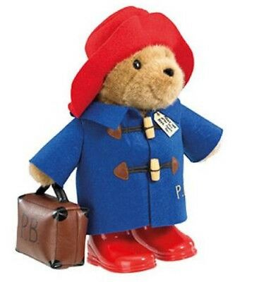 Paddington Classic Bear with Boots Suitcase Large 36cm Official Paddington Bear