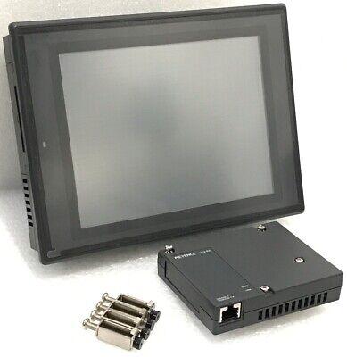 Keyence Vt3-v8 Vt3-e3 Touch Screen Hmi Panel Display With Ethernet Unit