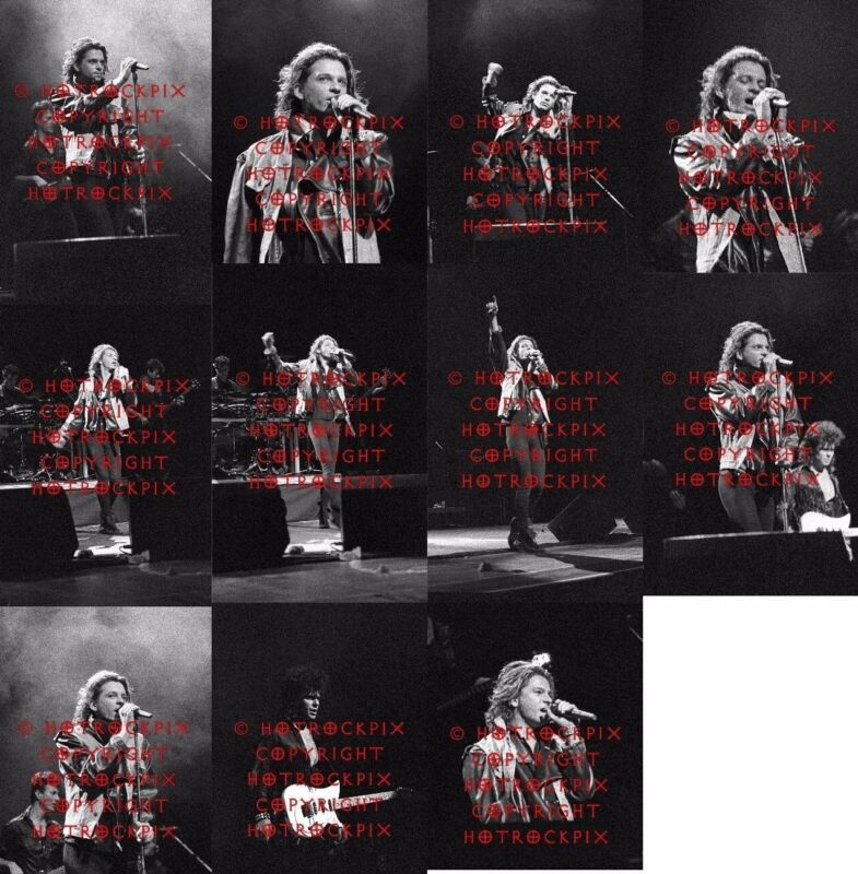 23 DIFFERENT 4X6 PHOTOS OF MICHAEL HUTCHENCE AND BAND OF INXS IN CONCERT SET#1