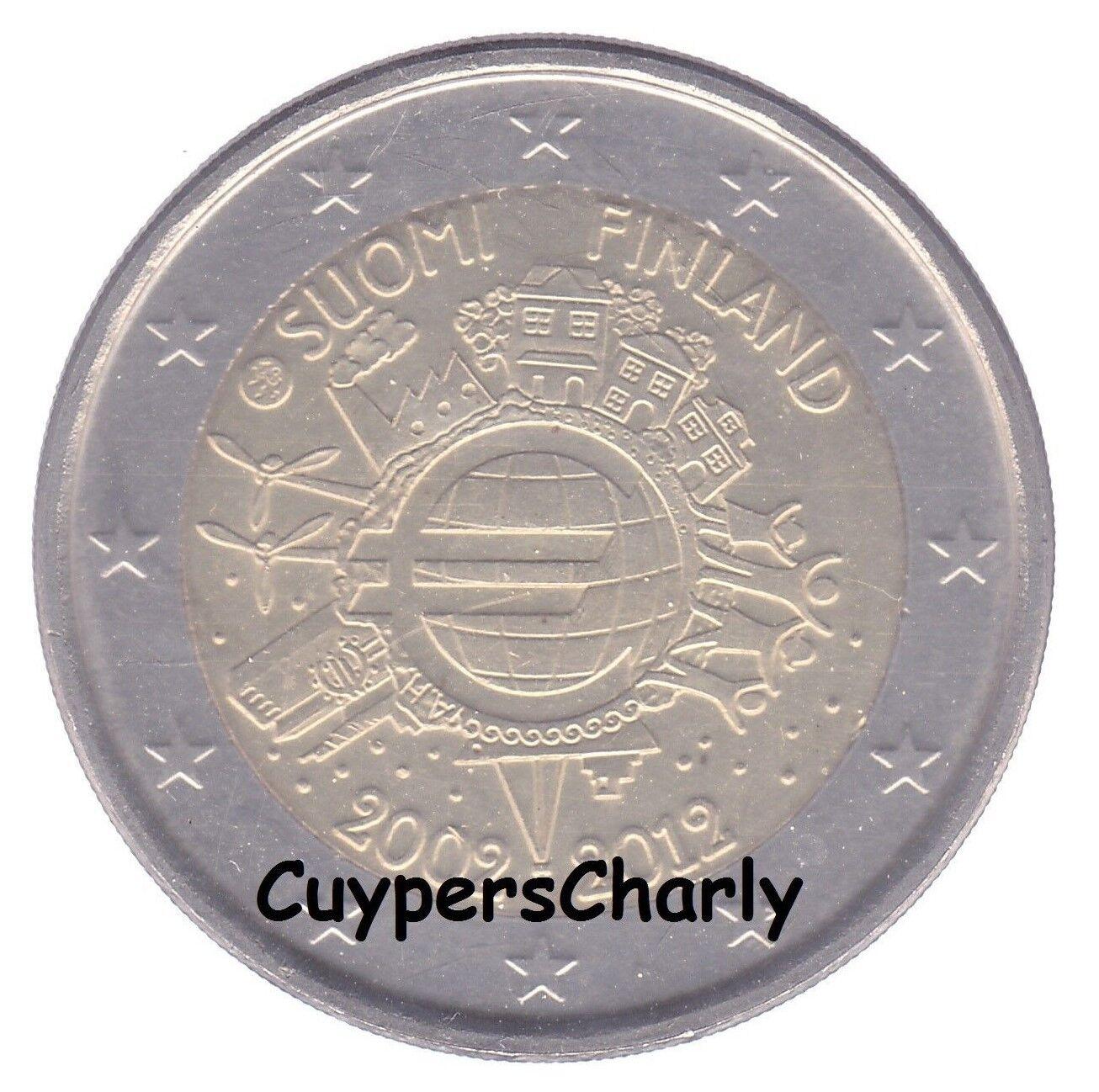 Finland 2012 2€ UNC TYE (10 Jaar Euro)