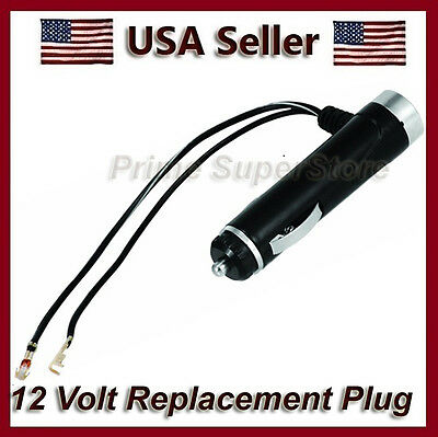 12V FUSED ACCESSORY SOCKET/PLUG CORD 2 LIGHTER OUTLET ADAPTER CAR BOAT RV TRUCK