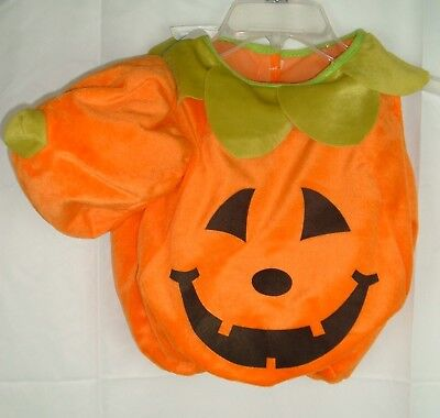 Easter Unlimited Pumpkin HALLOWEEN COSTUME INFANT BOYS GIRLS One Sz up to 24 Mo