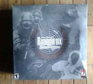 Tom clancys rainbow six collectors edition windows 95 an 98