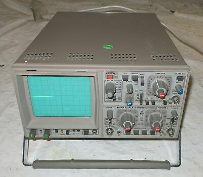 Hameg 204-2 Dual Beam 20mhz 2 Channel Oscilloscope