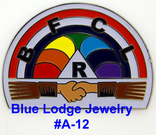 Order of Rainbow for Girls Car emblem #A-12 Masonic Family