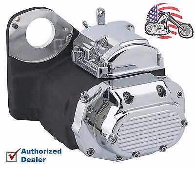 Ultima Black Chrome LSD 6-Speed Transmission Harley Evo Softail Chopper Bobber