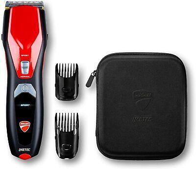 Imetec Ducati - Maquinilla cortapelo profesional HC 919 Podium, cuchillas Acute