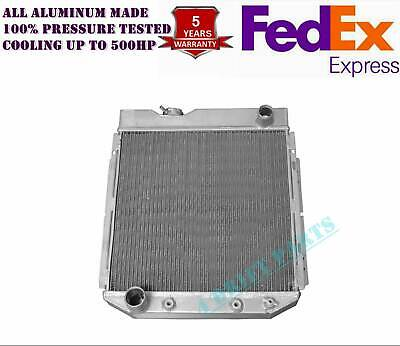 FIT Ford Econoline Falcon Mustang V8 3 ROWS All ALUMINUM RADIATOR
