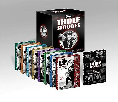 The Three Stooges: The Ultimate Collection (DVD, 2012, 20-Disc Set) New