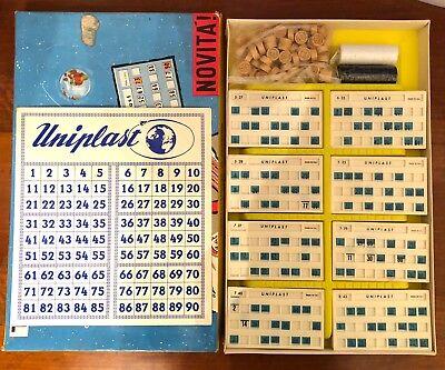 Tombola gioco da tavolo vintage Uniplast