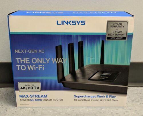 Linksys EA9500 Max-Stream AC5400 Tri-Band Wi-Fi Router EA9500