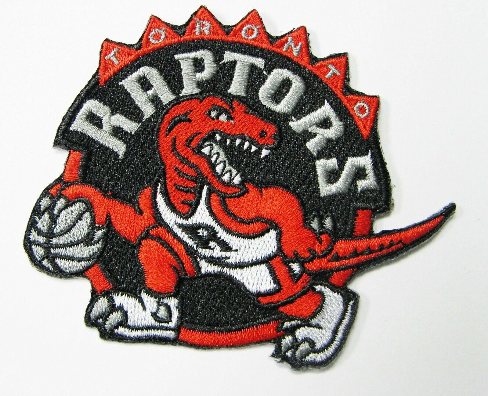LOT OF  NBA BASKETBALL TORONTO RAPTORS EMBROIDERED PATCH PAT