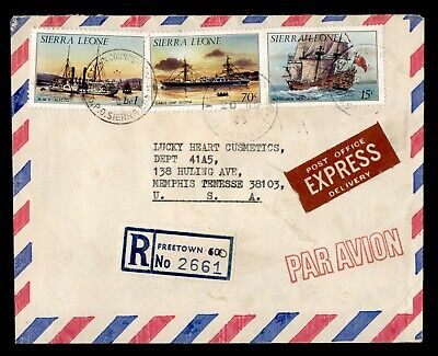 DR WHO 2005 SIERRA LEONE FREETOWN REGISTERED SPECIAL DELIVERY AIRMAIL  g17556