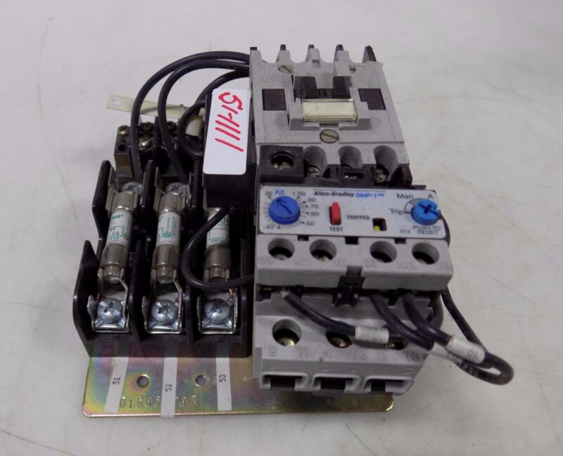 ALLEN BRADLEY SMP-1 MOTOR STARTER ASSEMBLY 801595-80S / 14C510