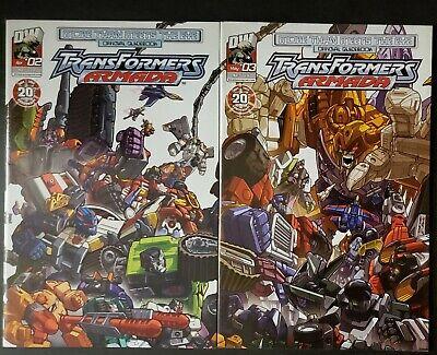 Transformers Armada: More Than Meets the Eye # 2, 3 (Dreamwave)2004 (More Than Meet The Eye)