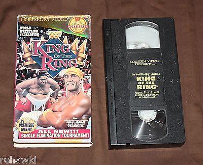 KING OF THE RING 1993 WWF (VHS, 1993) RARE WCW WWE HULK HOGAN
