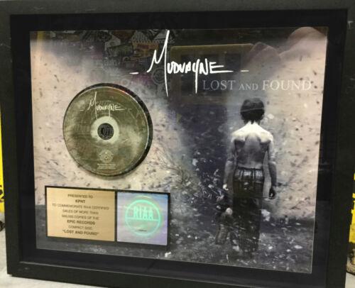 "MUDVAYNE - LOST AND FOUND CD 18x14"" RIAA award RARE! korn disturbed linkin park"