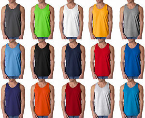 Gildan-Mens-Ultra-Cotton-Tank-Top-Any-Size-Color-2200