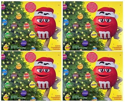 Mars Candy Countdown 24 Day Holiday Calendar 4 Pack Exp 06/20 A210