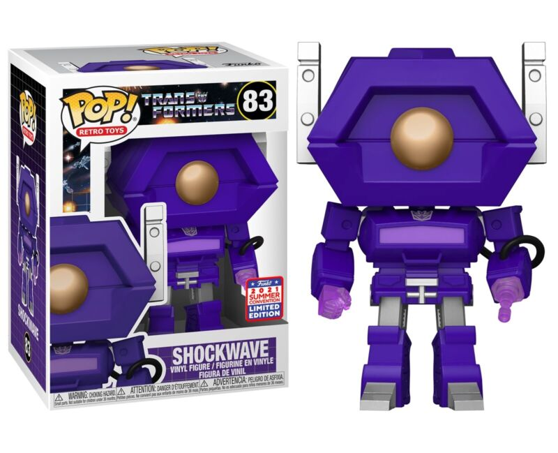 Funko Pop! Transformers Shockwave #83- Limited Edition 2021 - NEW IN HAND