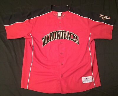 Vintage Arizona Diamondbacks Dan Haren BP Jersey Mens 2XL Red