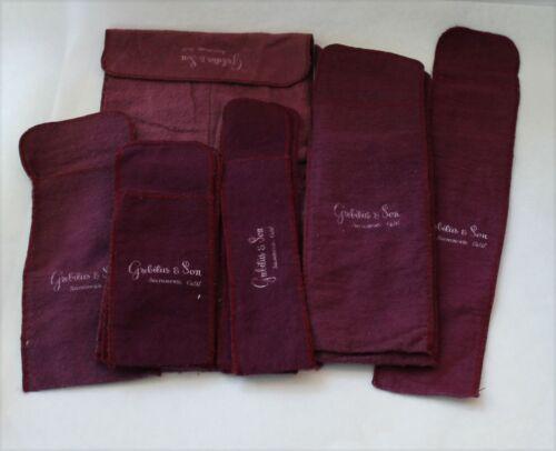 Grebitus & Sons Sterling Silver Flatware Storage Bags - Set of 12