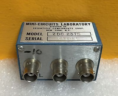 Mini-circuits Zdc-2375 50 To 100 Mhz 75 Ohm 35 Db Bnc Directional Coupler