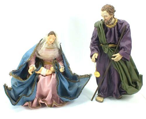 Vintage 1989 CLOTHTIQUE Possible Dreams MARY JESUS & JOSEPH Doll NATIVITY Scene