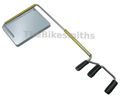 Bike Peddler Take a Look Mirror Original Longer Size Eyeglass Bike Helmet Visor