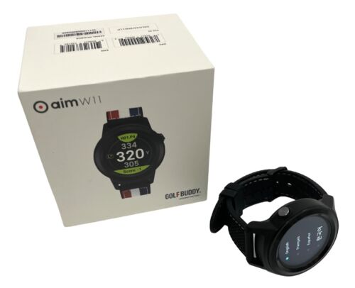 GOLFBUDDY aim W11 Smart Golf GPS Touch Screen Watch